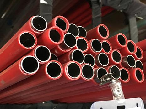 覆塑不锈钢热水管